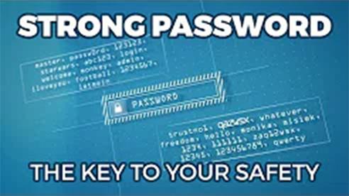 Silne hasło - klucz doTwojego bezpieczeństwa